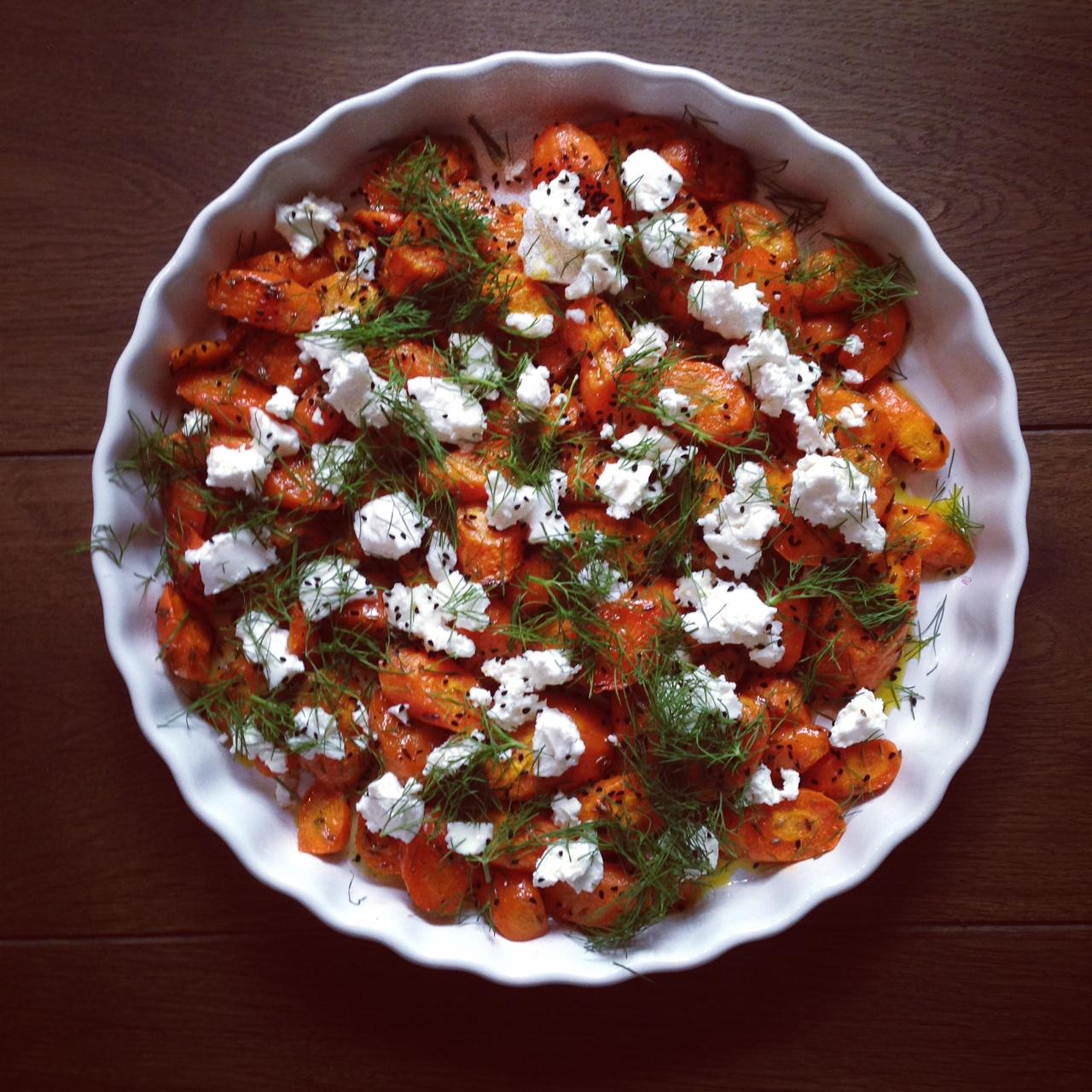 geröstete Karotten 1